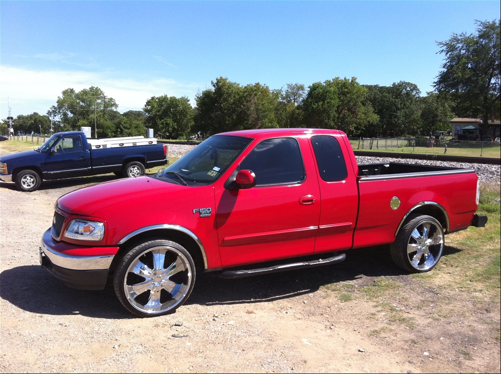 Just wanna share page 21 f150online forums but then to lower it w 24s freerunsca Images