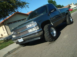 FatBoyCustomzzs 1989 Chevrolet Silverado 1500 Regular Cab