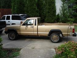 Ga_Rebels 1987 Jeep Comanche Regular Cab