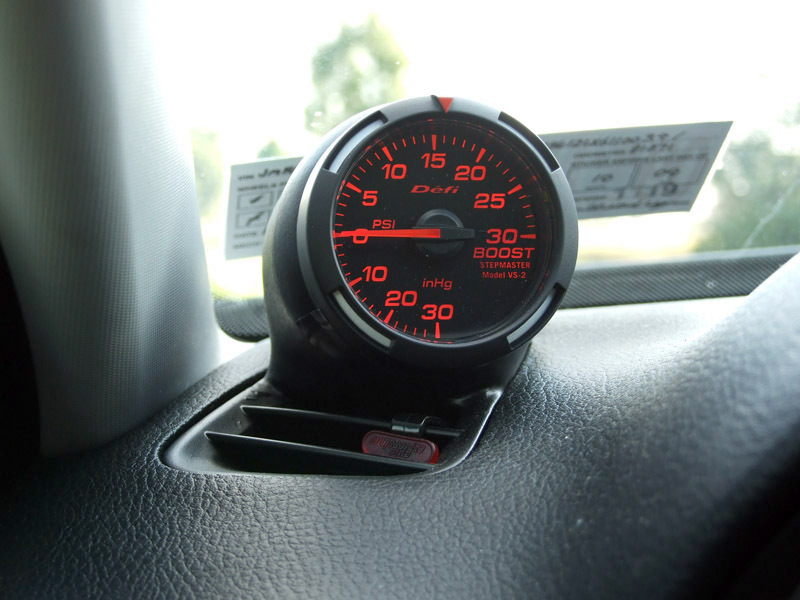 mazdaspeed 6 mps noob th summary guide for new owners defi red racer gauge defi red racer 52mm boost gauge psi driver s side defrost vent pod this guy makes very high quality custom pods i am making and