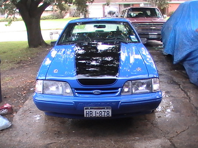 1989 Mustang Coupe Weight