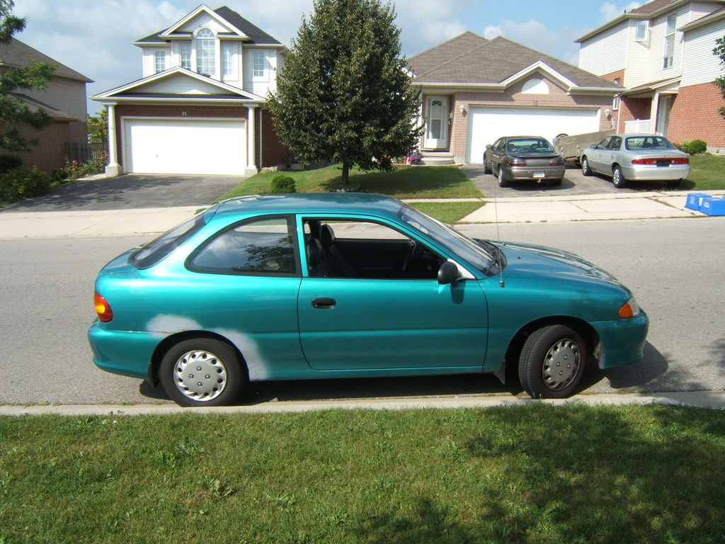 91acurailltegra 1996 Hyundai Accent Specs Photos Modification Info At Cardomain