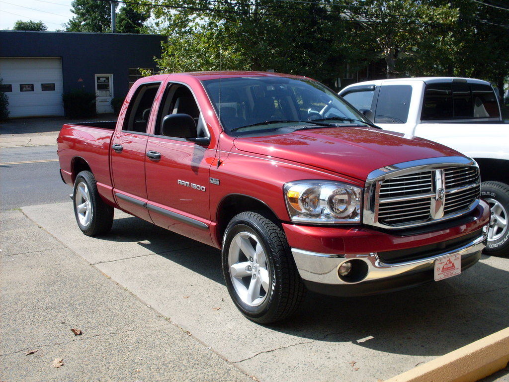 hemi inferno 2007 dodge ram 1500 regular cab specs photos modification info at cardomain. Black Bedroom Furniture Sets. Home Design Ideas