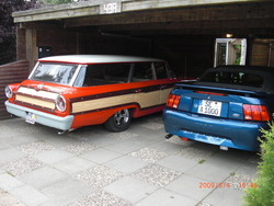 Andy-B 1963 Ford LTD Country Squire