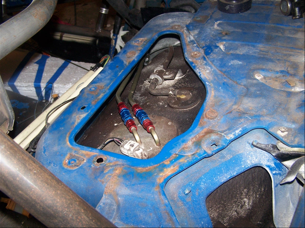 Stainless fuel lines smelling of gas - Page 2 - MX-5 Miata Forum