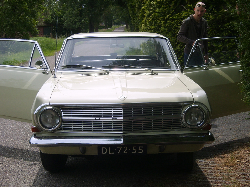 Another hakkelaar 1964 Opel Rekord post... - 13752055