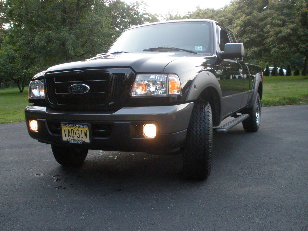 blacked out fx4 2006 ford ranger regular cab specs photos modification info at cardomain. Black Bedroom Furniture Sets. Home Design Ideas