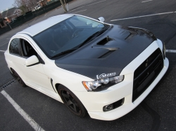 Evolved-Boosts 2008 Mitsubishi Evolution