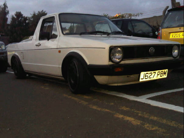 Another Smartmatrix 1991 Volkswagen Caddy post... - 13763557