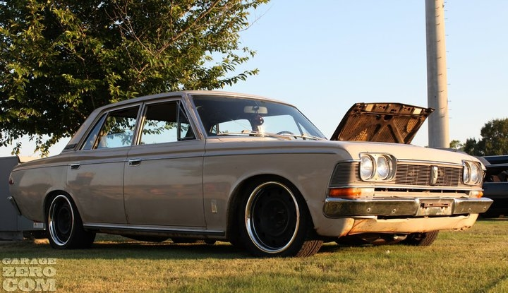 Another widebodycharlie 1969 Toyota Crown post... - 13418666