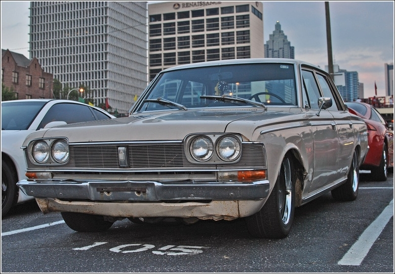 Another widebodycharlie 1969 Toyota Crown post... - 13418672