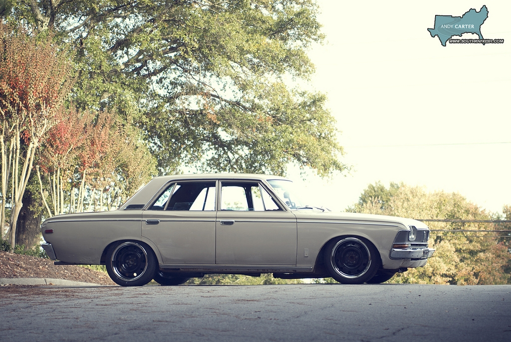 Another widebodycharlie 1969 Toyota Crown post... - 13418675