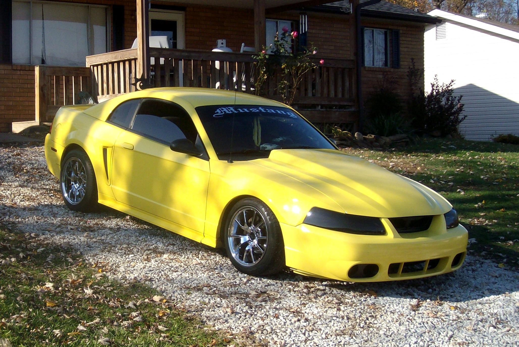 SASSYMOMMA26 2002 Ford Mustang