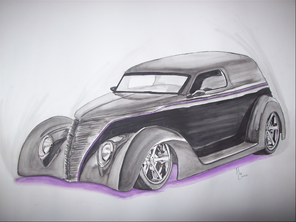 1937 ford panel delivery