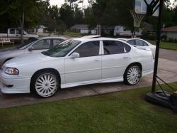 WhiteOnWhiteSlims 2005 Chevrolet Impala