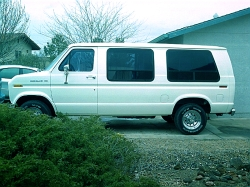 Windstar-SCs 1987 Ford Econoline E150 Passenger