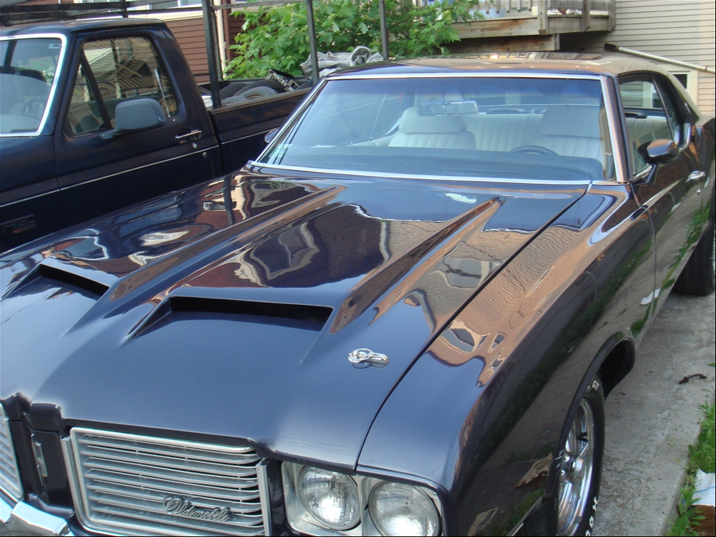 cutty in the works: BlkRich1972's 1972 Oldsmobile Cutlass Supreme 1972