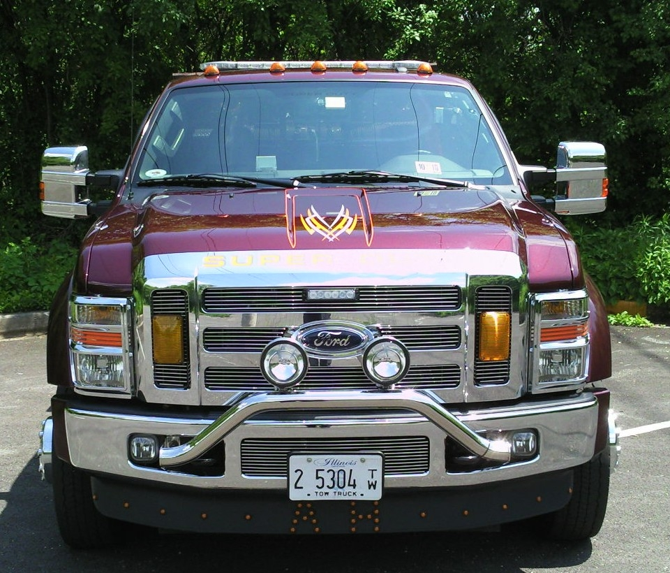 LSchicago 2009 Ford F550 Super Duty Regular Cab & Chassis