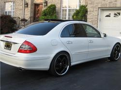 2hot2see 2008 Mercedes-Benz E-Class