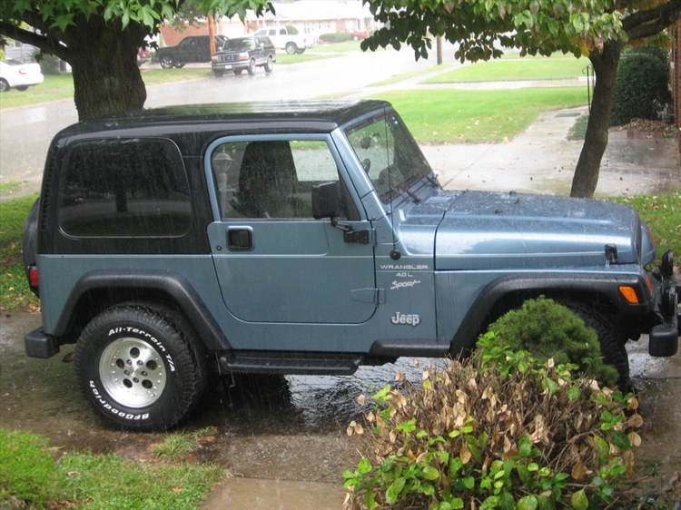 Another Criztaztrophe 1999 Jeep Wrangler post... - 13789967
