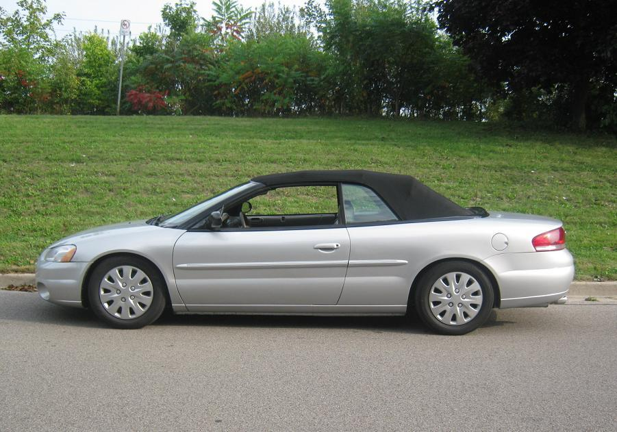 Large on 2001 Chrysler Sebring Battery Location