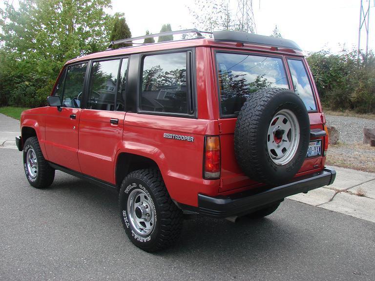 Audi 0 60 >> partspatrol 1990 Isuzu Trooper Specs, Photos, Modification ...