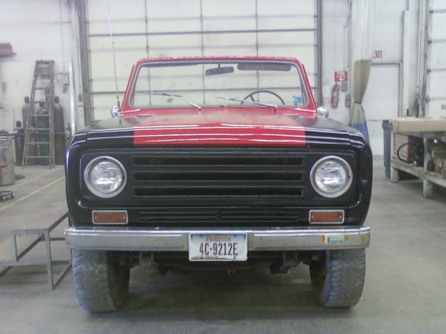 1971 International Scout II
