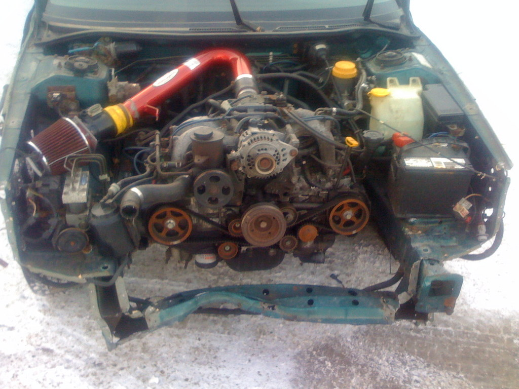 1996 subaru legacy engine