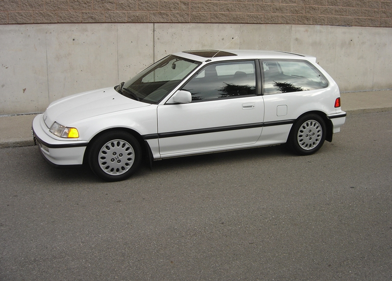 bought a 1991 civic si