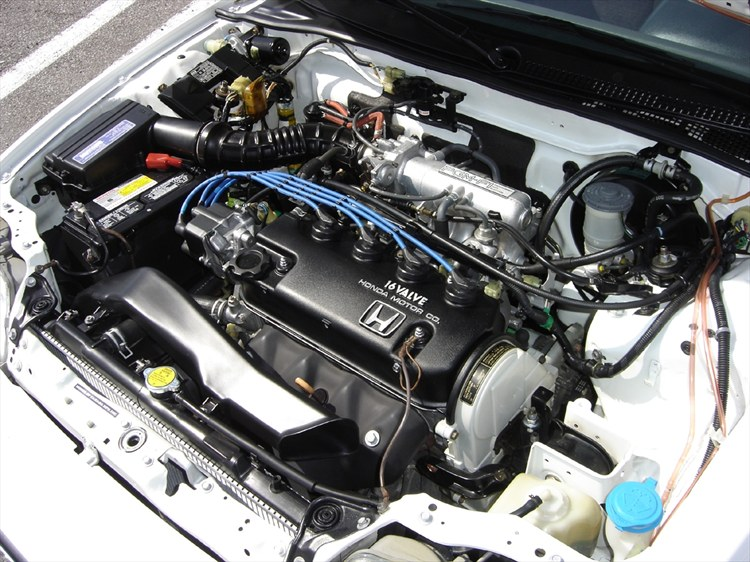 Detail Engine Bay With Wd 40 91 Civic Si Honda Tech