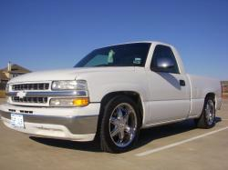 WHITEwattas 2000 Chevrolet Silverado 1500 Regular Cab