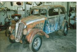 40coupe 1933 Willys Americar