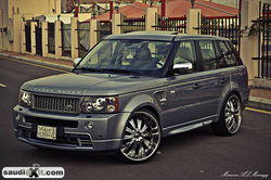 Saudi_Exits 2009 Land Rover Range Rover Sport