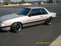 silvernotchs 1990 Ford Mustang