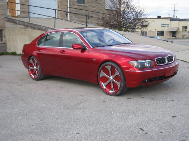 LilTre9's 2008 BMW 7 Series