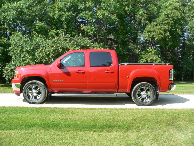 red bandit 2009 gmc sierra 1500 regular cab specs photos modification info at cardomain. Black Bedroom Furniture Sets. Home Design Ideas