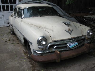 Another 66-Frankenfish 1954 Chrysler New Yorker post... - 13833492