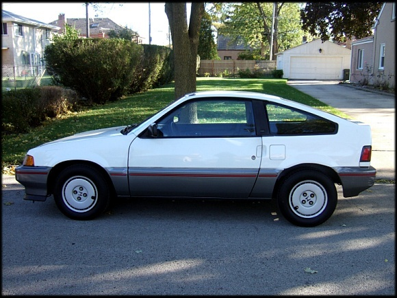 milkilos 39 s 1987 honda crx in evanston il. Black Bedroom Furniture Sets. Home Design Ideas