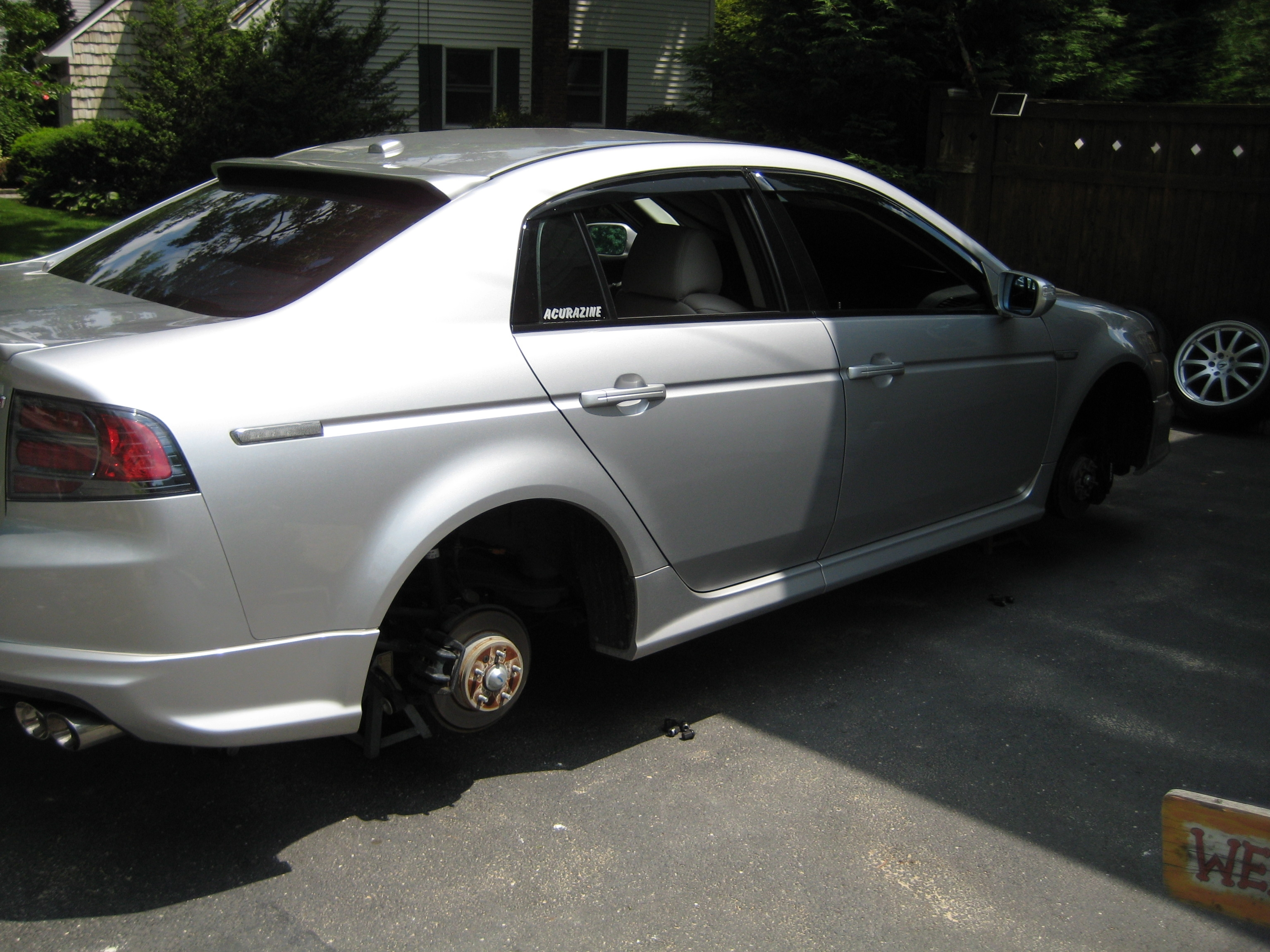 ReplayMan 2007 Acura TL Specs Photos Modification Info at CarDomain