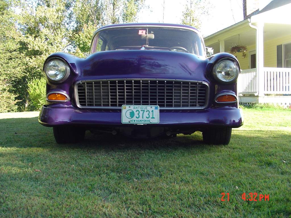 Another oilman 1955 Chevrolet Bel Air post... - 13388364
