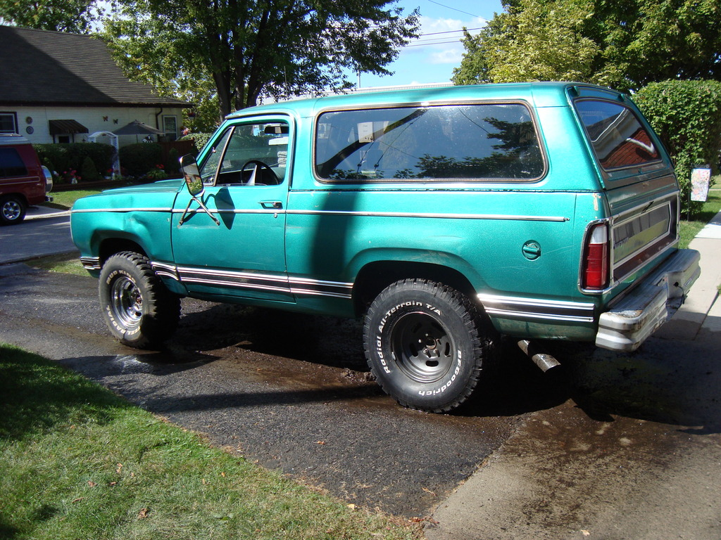 Large on 1999 Dodge Ramcharger
