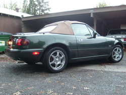 GeneralForces 1997 Mazda Miata MX-5