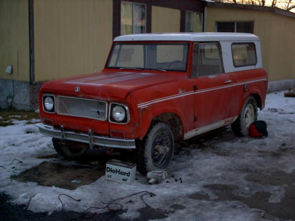 boebr1 1970 International Scout II 9594275