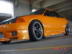 Hatch-rods 1992 Honda Civic