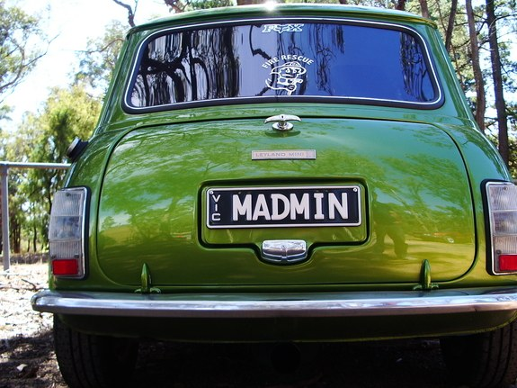 Another Madm1n 1977 MINI Clubman post... - 9596059