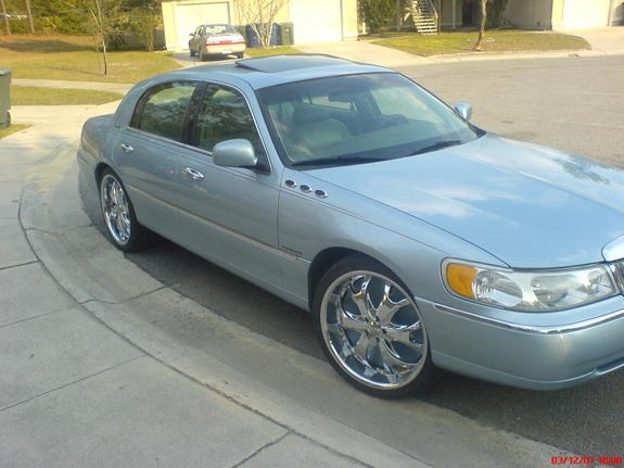Alabama Slim 1998 Lincoln Town Carsignature Sedan 4d Specs Photos