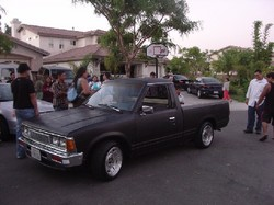 STOCKNAPZs 1985 Nissan 720 Pick-Up