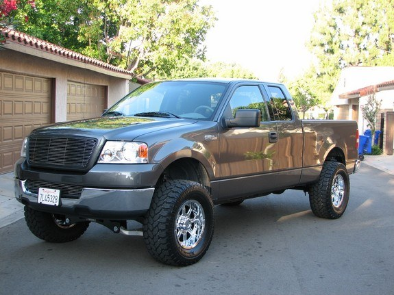 mrupser 2004 ford f150 regular cab specs photos modification info at cardomain. Black Bedroom Furniture Sets. Home Design Ideas