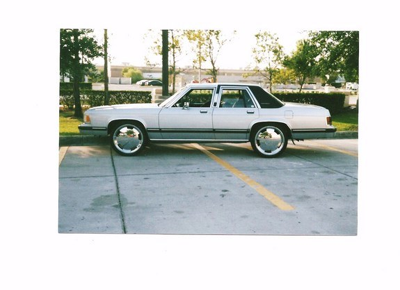 BigMercon22s 1991 Mercury Grand Marquis Specs Photos