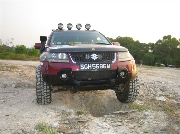 Suzuki Grand Vitara Off Road Parts